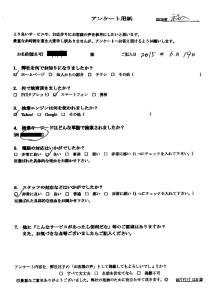 大阪市にてゴミ屋敷の整理 お客様の声