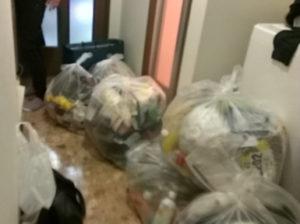 大阪市北区で衣類、布団など回収写真2