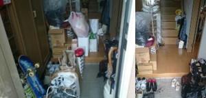 箕面市で家庭ゴミ回収の写真