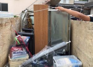 浪速区にて、本棚などの回収