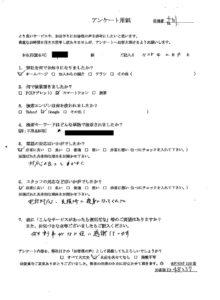 大阪府和泉市にて遺品整理のご依頼 お客様の声