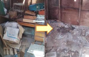 堺市のでタンス、机、物干し竿等回収のお客様の画像