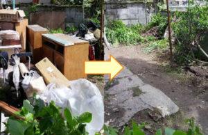 堺市のでタンス、机、物干し竿等回収のお客様の画像2