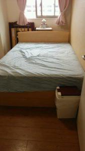淀川区にて、プリンター、ベッドなどの回収1