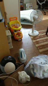 淀川区にて、プリンター、ベッドなどの回収4