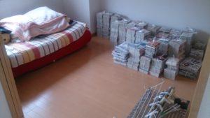 阿倍野区にて、ベッド、カーペットなどの回収3
