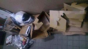 生野区にて、炊飯器、衣類などの回収1