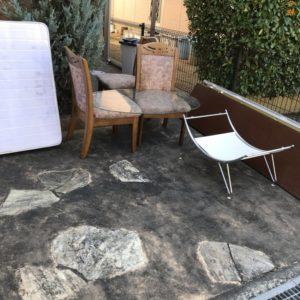 【富田林市】扇風機、椅子、テーブル等の回収・処分ご依頼
