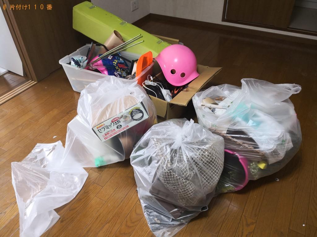 【大阪市中央区】衣装ケース、ダンボール等の回収・処分ご依頼