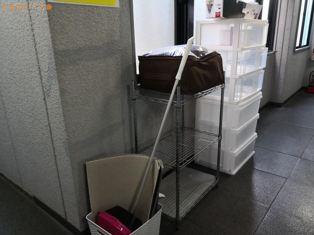 【大阪市旭区】冷蔵庫、カラーボックス、テレビ台等の回収・処分