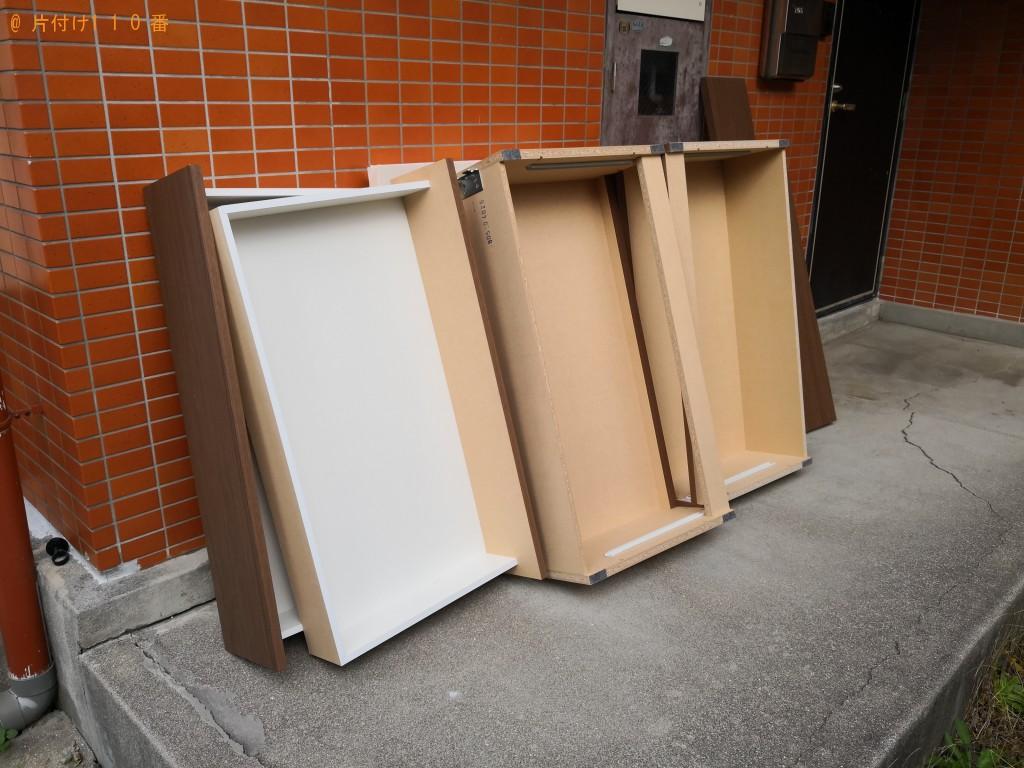 【東大阪市山手町】セミダブルベッドの回収・処分ご依頼 お客様の声