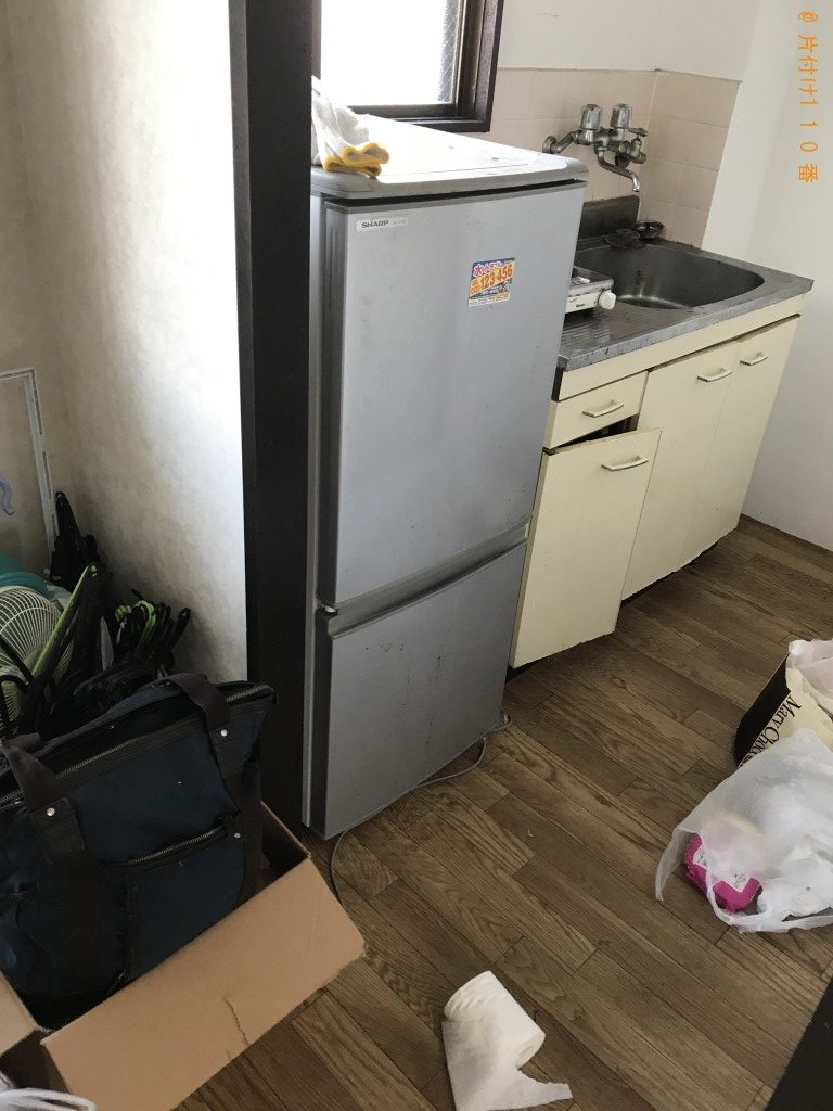 【東郷町】冷蔵庫、洗濯機、収納棚、電子レンジ等の回収・処分
