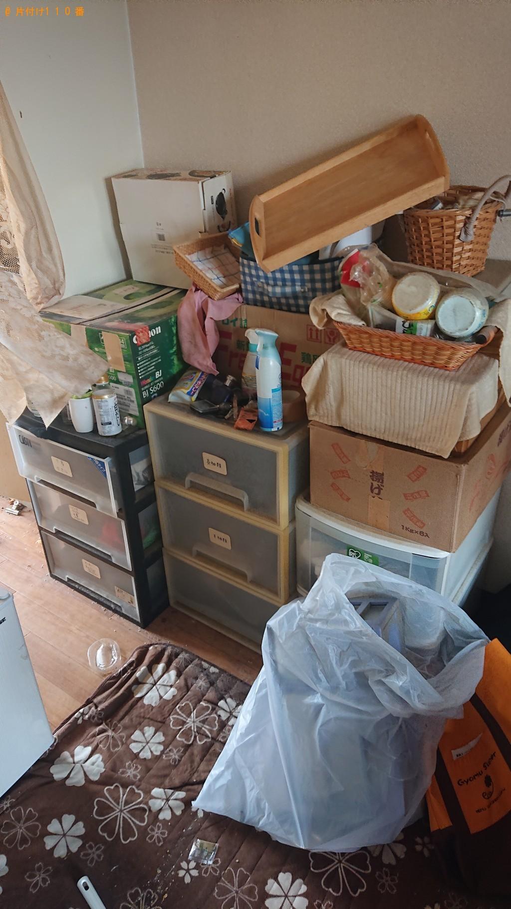 【堺市堺区】フライパン、鍋、布団、衣類、衣装ケース等の回収・処分