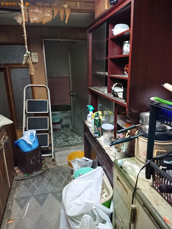 【大阪市】仏壇、冷蔵庫、電子レンジ、食器棚等の回収・処分ご依頼