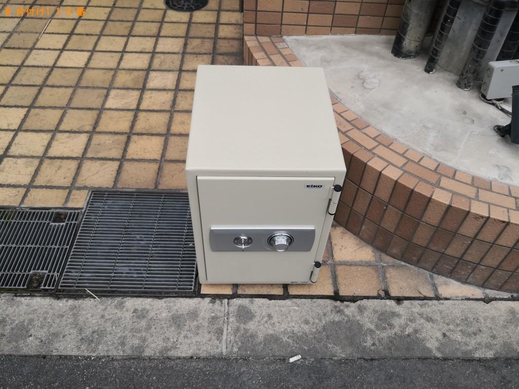 【大阪市天王寺区】洗濯機、スタンドミラー、金庫の回収・処分ご依頼
