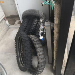 【吹田市】バイクのタイヤの回収・処分ご依頼 お客様の声