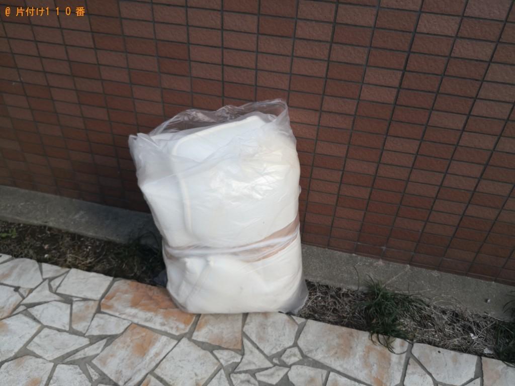 【阪南市】敷布団の回収・処分ご依頼 お客様の声