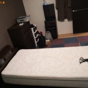 【茨木市】シングルベッド、物干し竿の回収・処分ご依頼 お客様の声