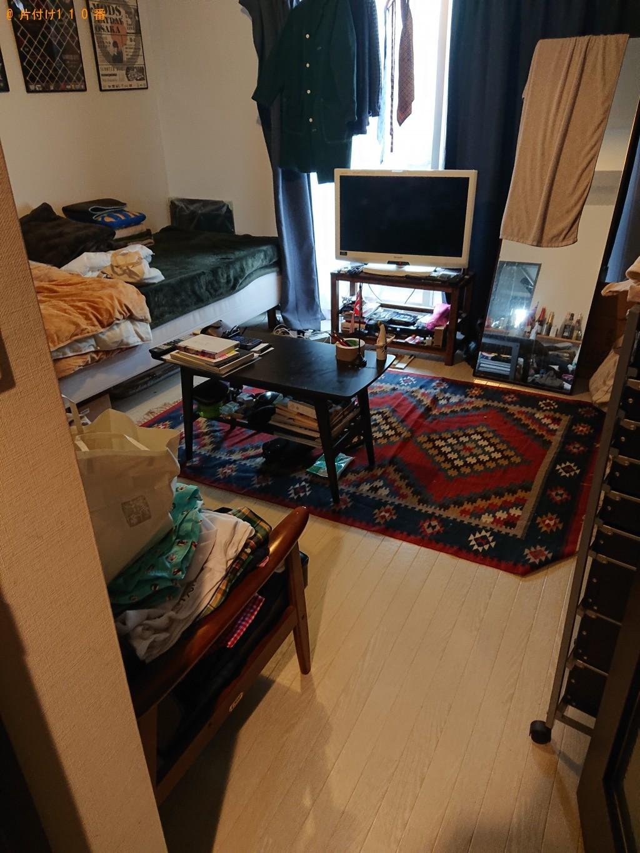 【箕面市】部屋の片付けと分別していない家庭ごみの回収・処分ご依頼