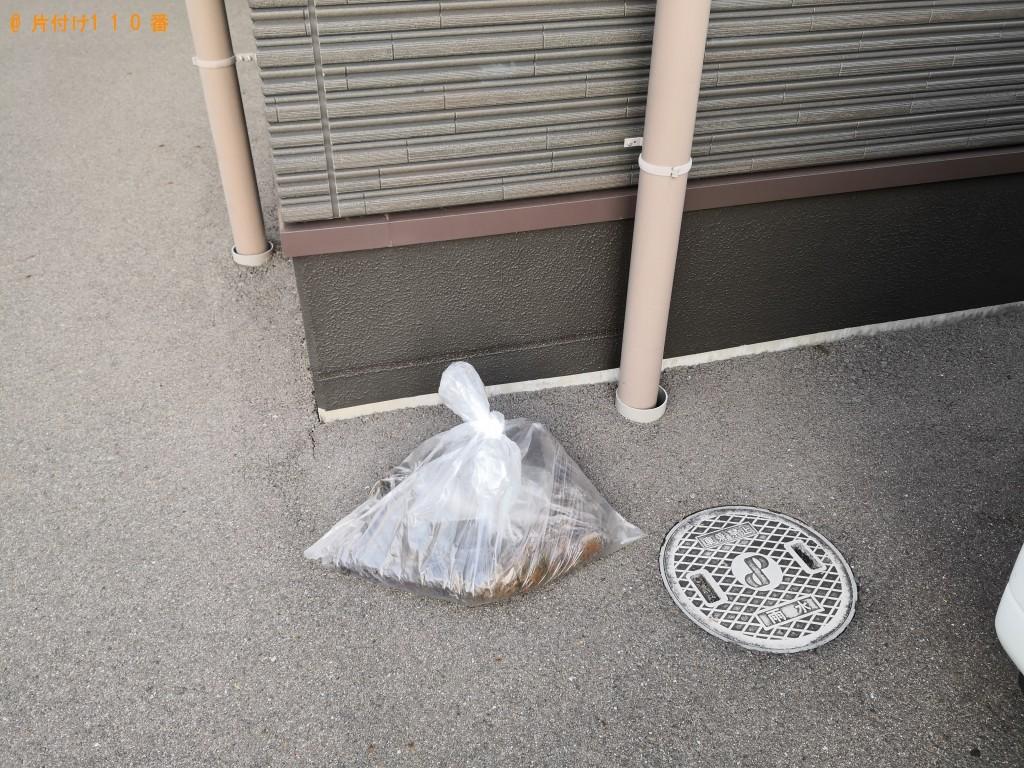 【枚方市】土の回収・処分ご依頼 お客様の声