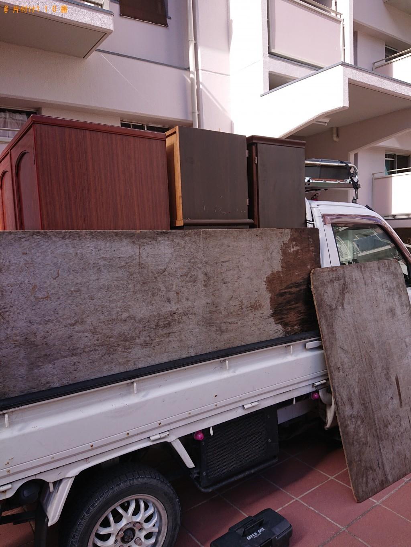 【堺市北区】本棚、整理タンスの回収・処分ご依頼 お客様の声