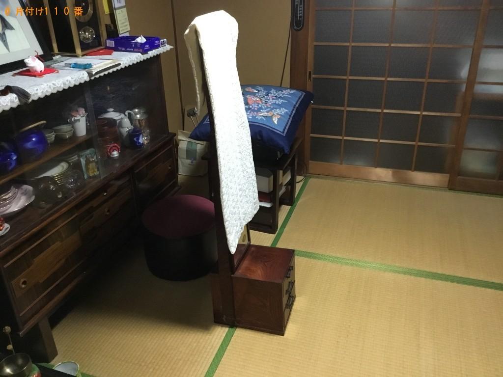 【大阪市西成区】家具の移動とドレッサーの回収・処分ご依頼