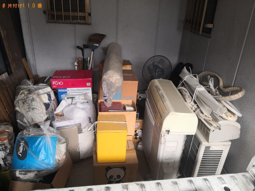 【大阪市西成区】エアコン、ゴルフバッグ、木材、扇風機等の回収