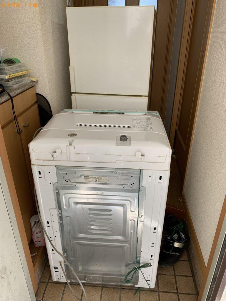冷蔵庫、洗濯機、自動車タイヤの回収・処分ご依頼