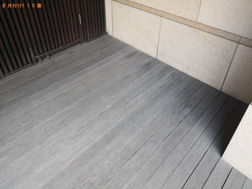 【大阪市西区】二人用ダイニングテーブル、椅子等の回収・処分ご依頼