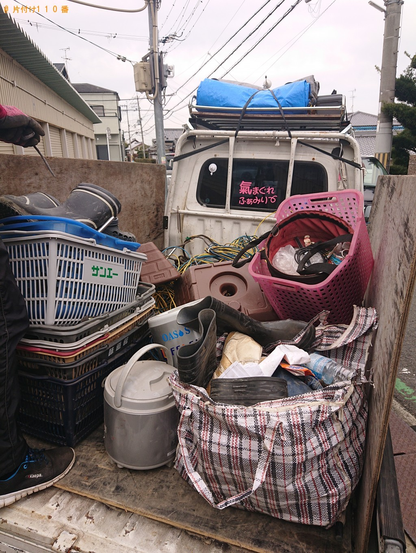 【堺市南区】ヘルメット、カゴ、長靴、分別なし家庭ごみ等の回収