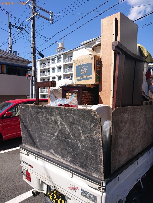 【長瀞町】冷蔵庫、こたつ、整理タンス、カラーボックス等の回収