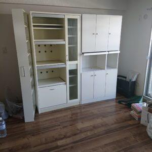 【豊中市】冷蔵庫、こたつ、整理タンス、カラーボックス等の回収