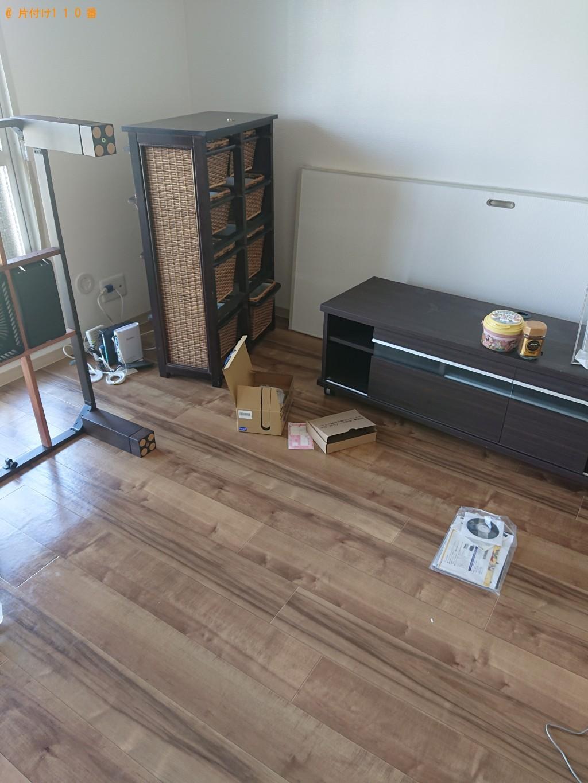 【知立市】遺品整理で冷蔵庫、こたつ、整理タンス、カラーボックス等の回収