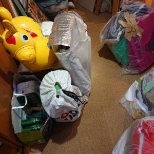 【東大阪市柏田本町】衣類、タオルの回収・処分ご依頼 お客様の声