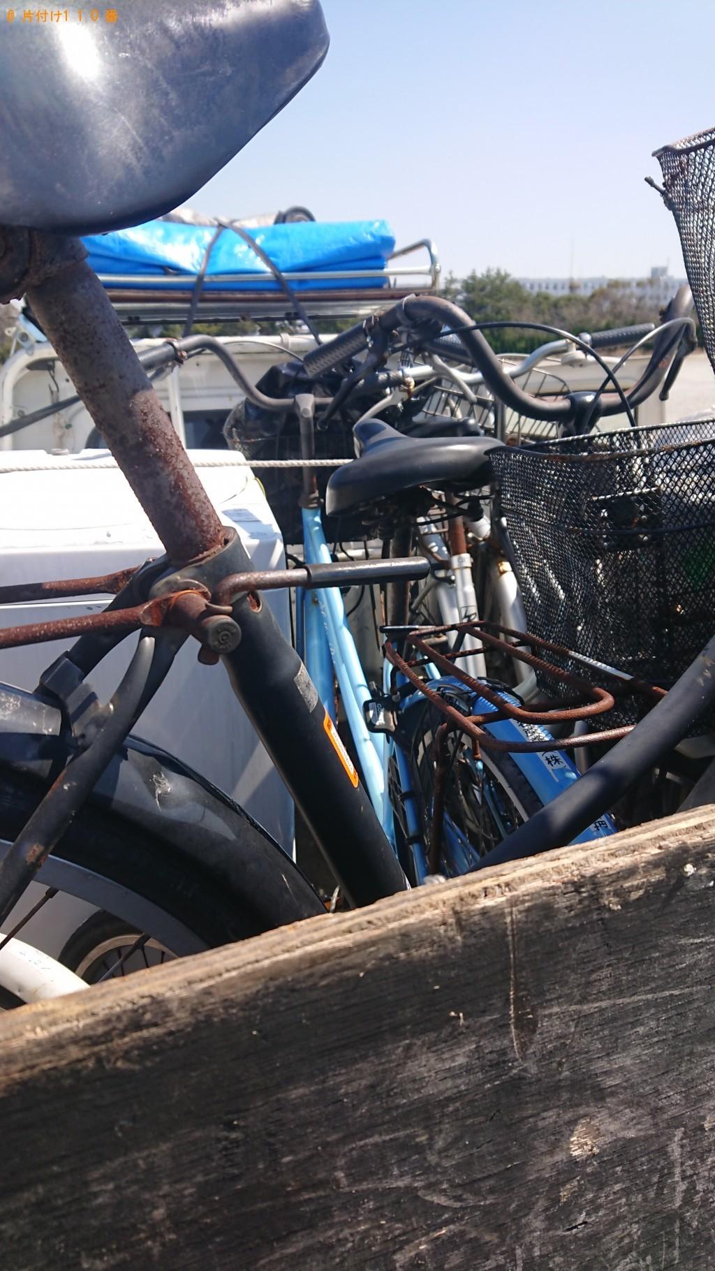 【堺市西区】洗濯機、自転車の回収・処分ご依頼 お客様の声