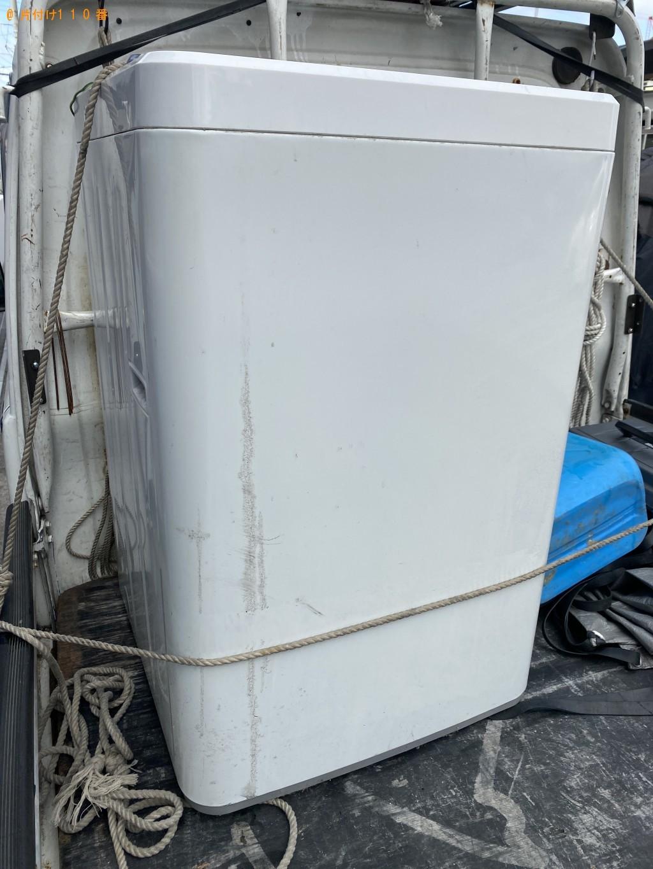 【大阪市住之江区】洗濯機の回収・処分ご依頼 お客様の声