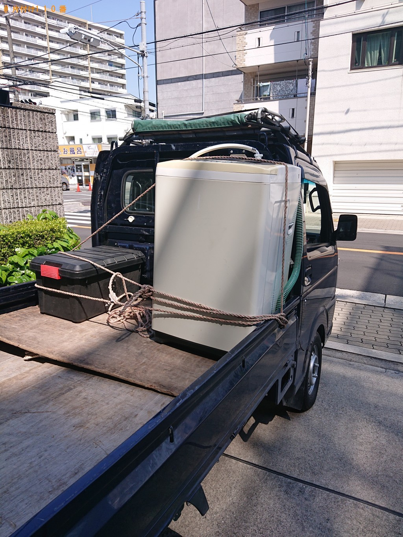 【大阪市住吉区】洗濯機の回収・処分ご依頼 お客様の声