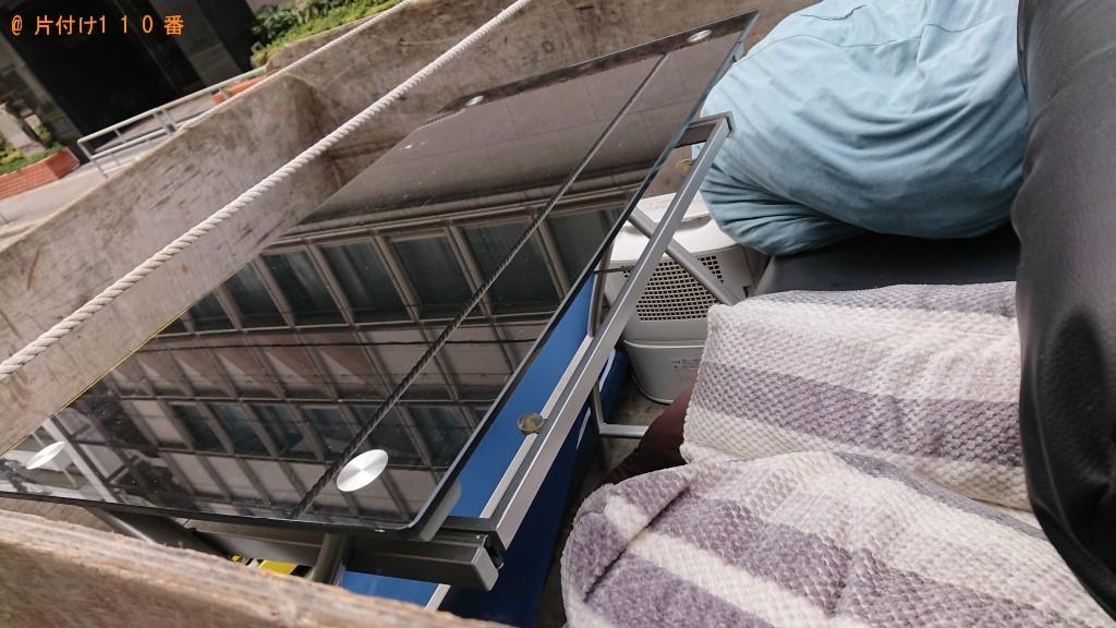 【大阪市淀川区】ローテーブル、ウレタンマットレス等の回収・処分