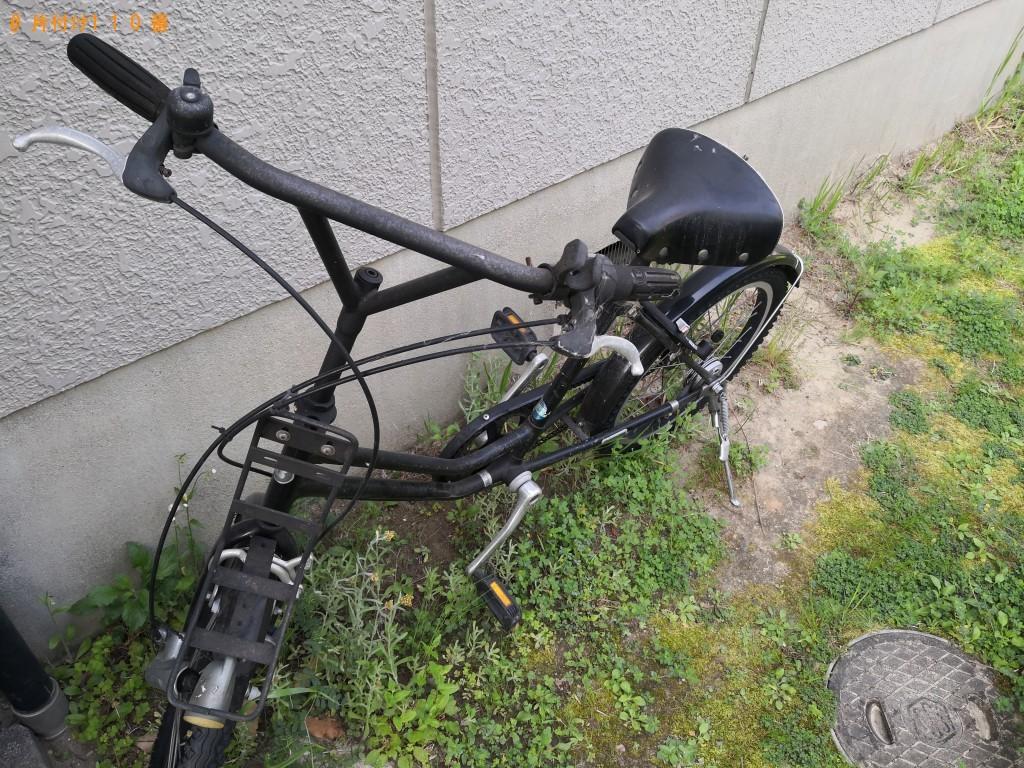 【八尾市柏村町】シングルベッド、マットレス、自転車の回収・処分