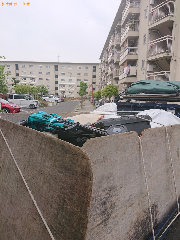 【神川町】テーブル、カゴ、発泡スチロール等の回収・処分ご依頼