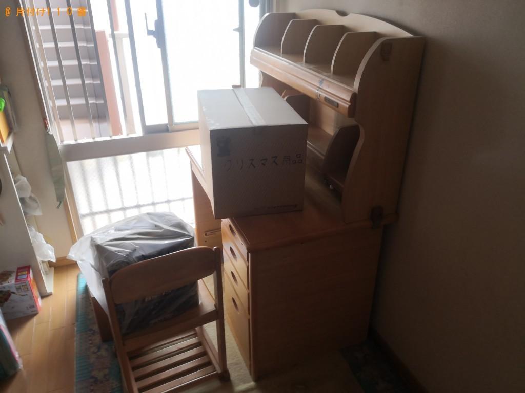 【滑川町】学習机、ベース、アンプなどの回収 お客様の声