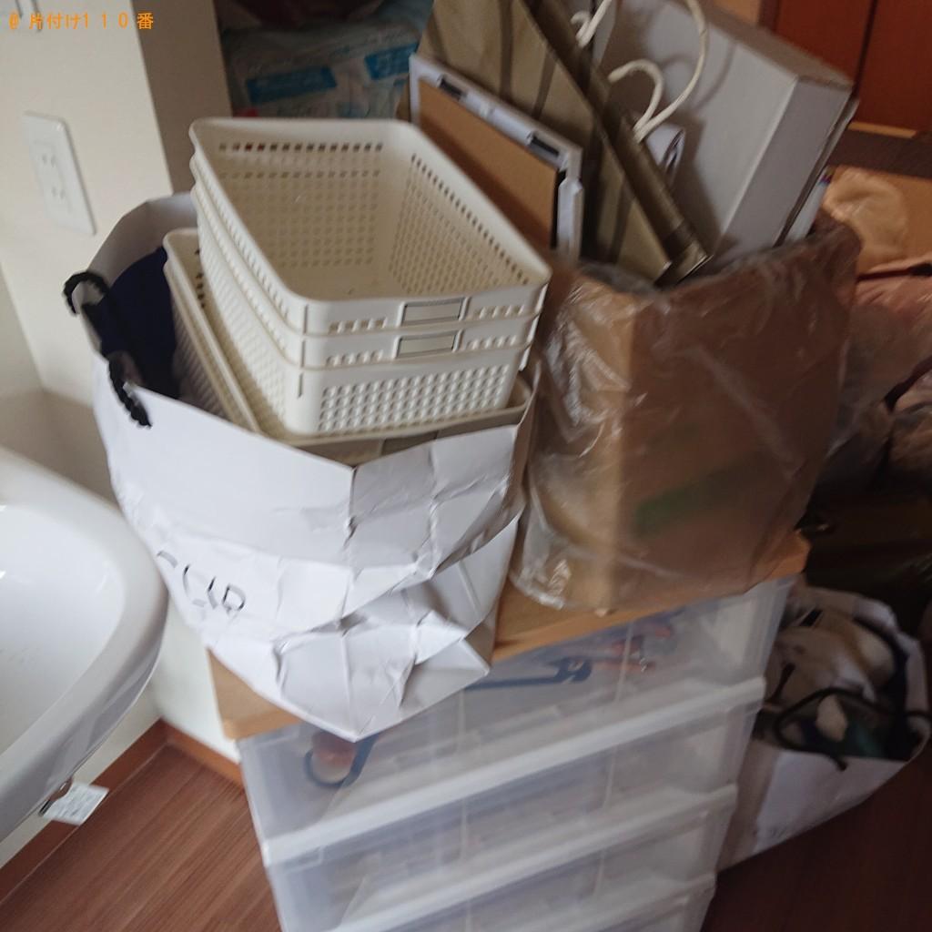 【堺市堺区】カラーボックス、布団、家庭ごみの回収・処分ご依頼