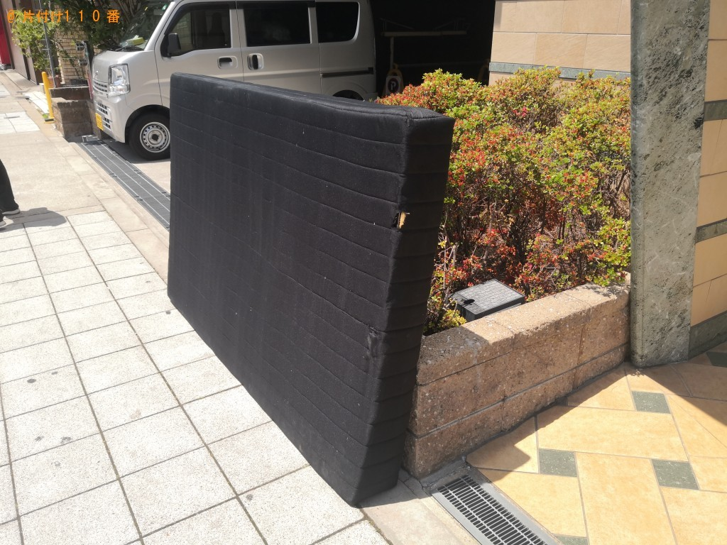 【大阪市港区】セミダブルマットレスの回収・処分 お客様の声