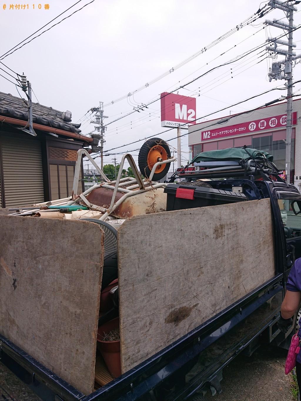 【堺市南区】冷蔵庫、テレビ、タンス、食器棚、布団、木材等の回収