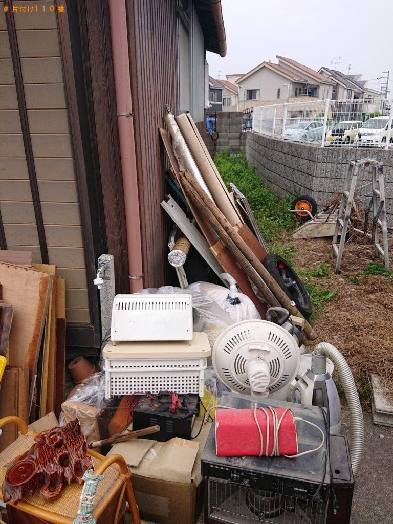 【上里町】冷蔵庫、テレビ、タンス、食器棚、布団、木材等の回収