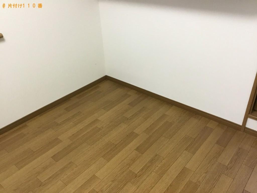 【大阪市淀川区】シングルベッド、ソファー、テレビ台等の回収・処分