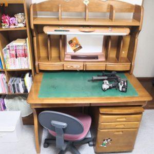 【八尾市】学習机、椅子、ミニチェストの回収・処分ご依頼