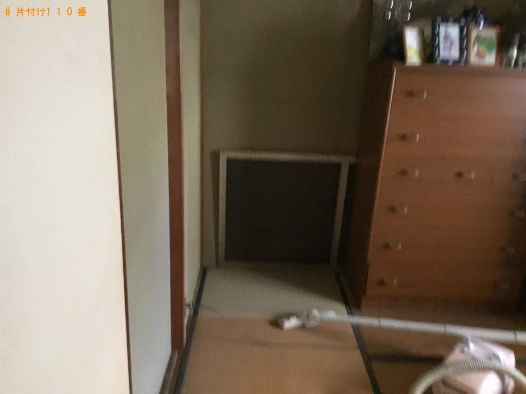 【門真市】遺品整理に伴いこたつ、本棚、タンス、食器洗い乾燥機の回収
