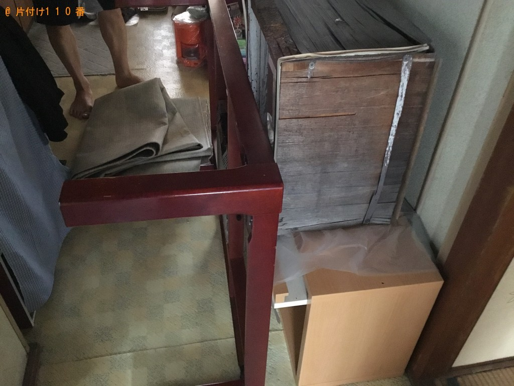 【大阪市住之江区】こたつ、本棚、タンス、食器洗い乾燥機の回収