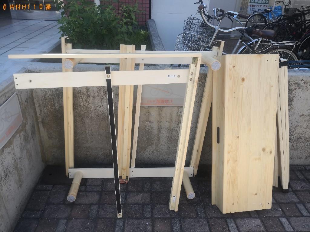【大阪市東淀川区】シングルベッドの回収・処分ご依頼 お客様の声